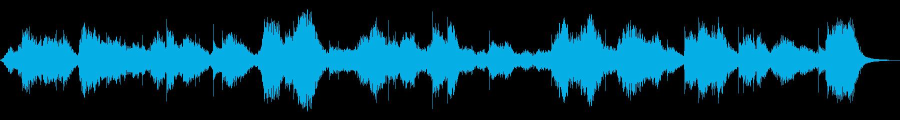 意識と無意識の境、無調性音楽の再生済みの波形