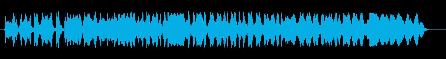 ウォーブリングモンキースクイール、...の再生済みの波形