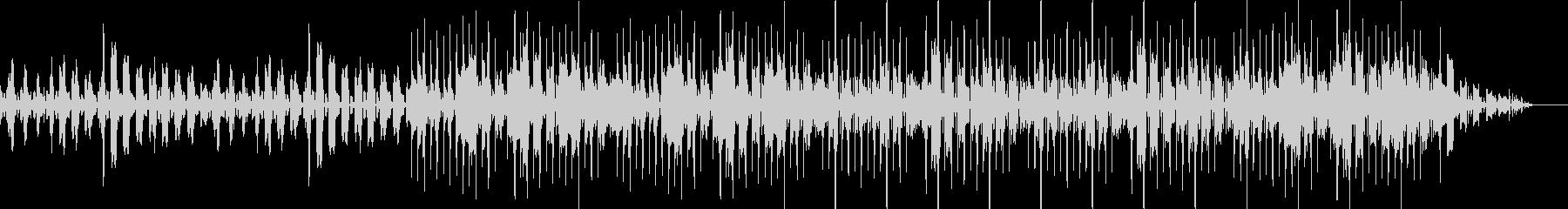 ベースとキック(バスドラム)抜きの未再生の波形