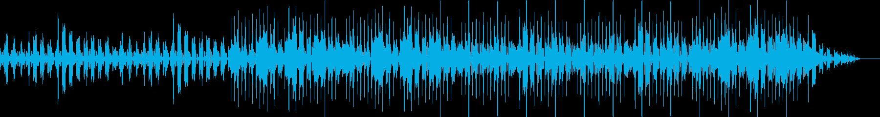 ベースとキック(バスドラム)抜きの再生済みの波形