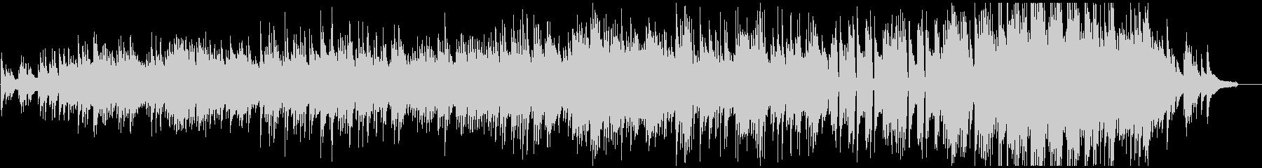 日本らしいメロディの切ないピアノソロ曲の未再生の波形