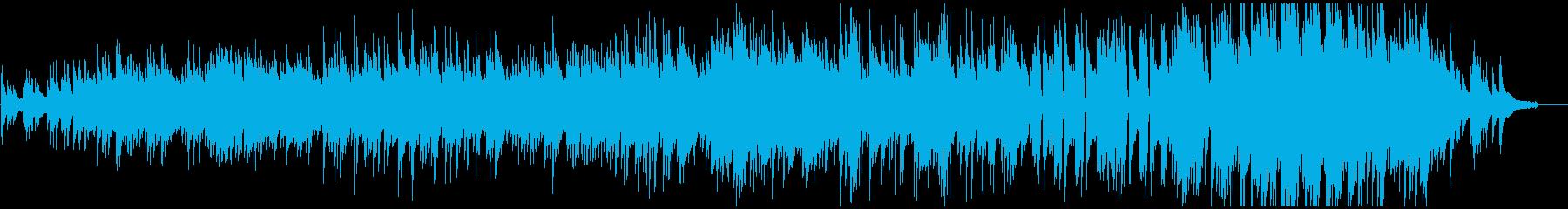日本らしいメロディの切ないピアノソロ曲の再生済みの波形