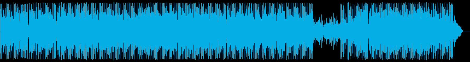 哀愁のディスコ風ユーロビートの再生済みの波形