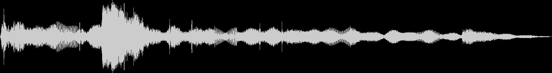 Electro Ping無線干渉の未再生の波形