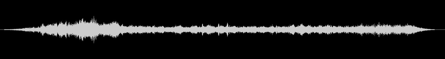 上昇 ホバーグリッチ01の未再生の波形