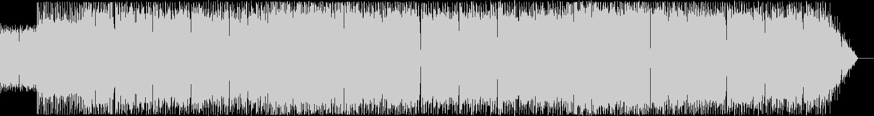 ヘヴィメタルを用いた行進曲モチーフの未再生の波形