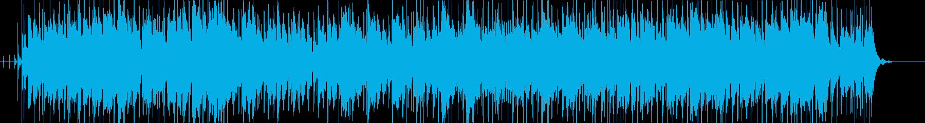 少しファンクなアンビエントダンスナンバーの再生済みの波形