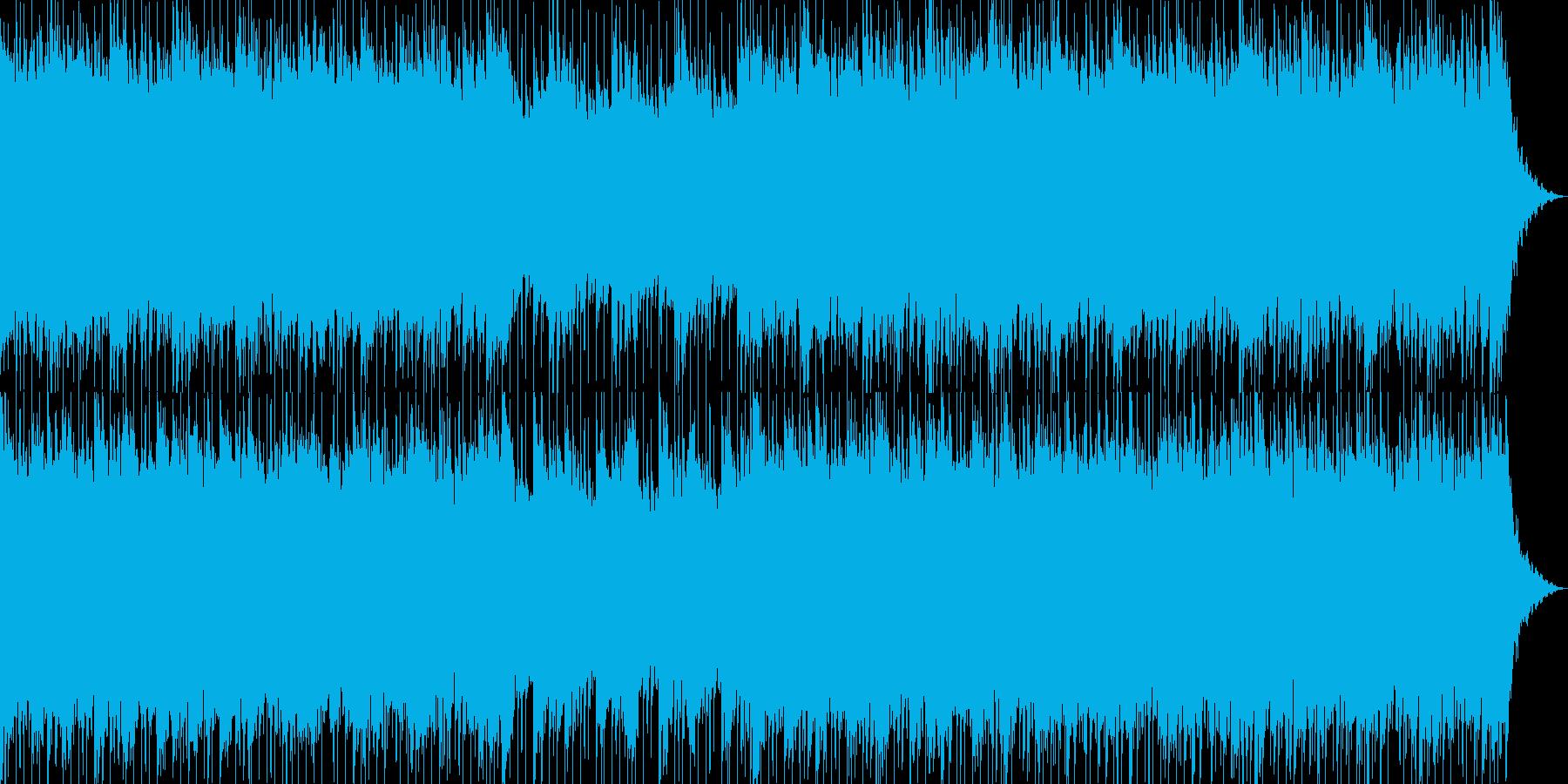 爽やかで軽いノリの明るいポップス-05の再生済みの波形