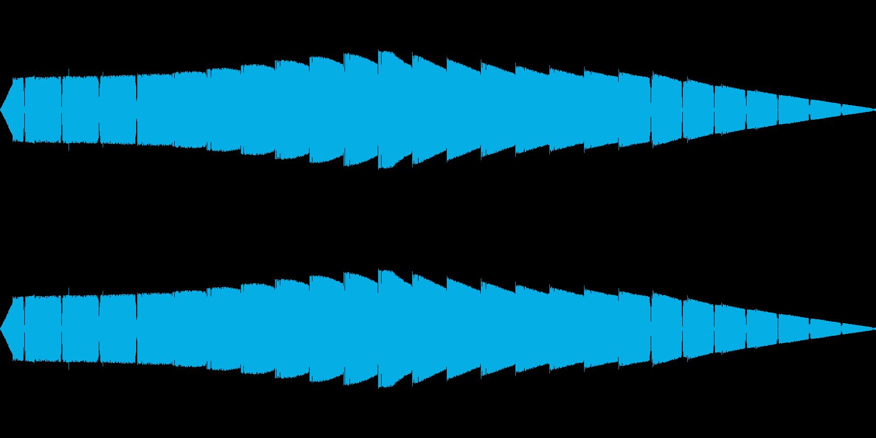 ピピピピ(ピコピコ/ワープ警告/アラームの再生済みの波形