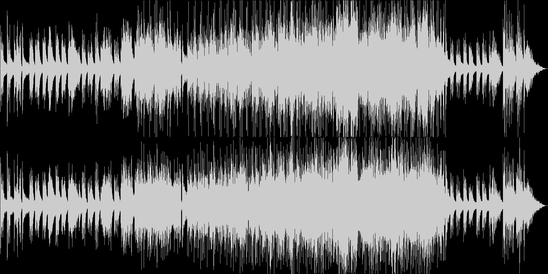 星空・銀河 幻想的なピアノBGMの未再生の波形