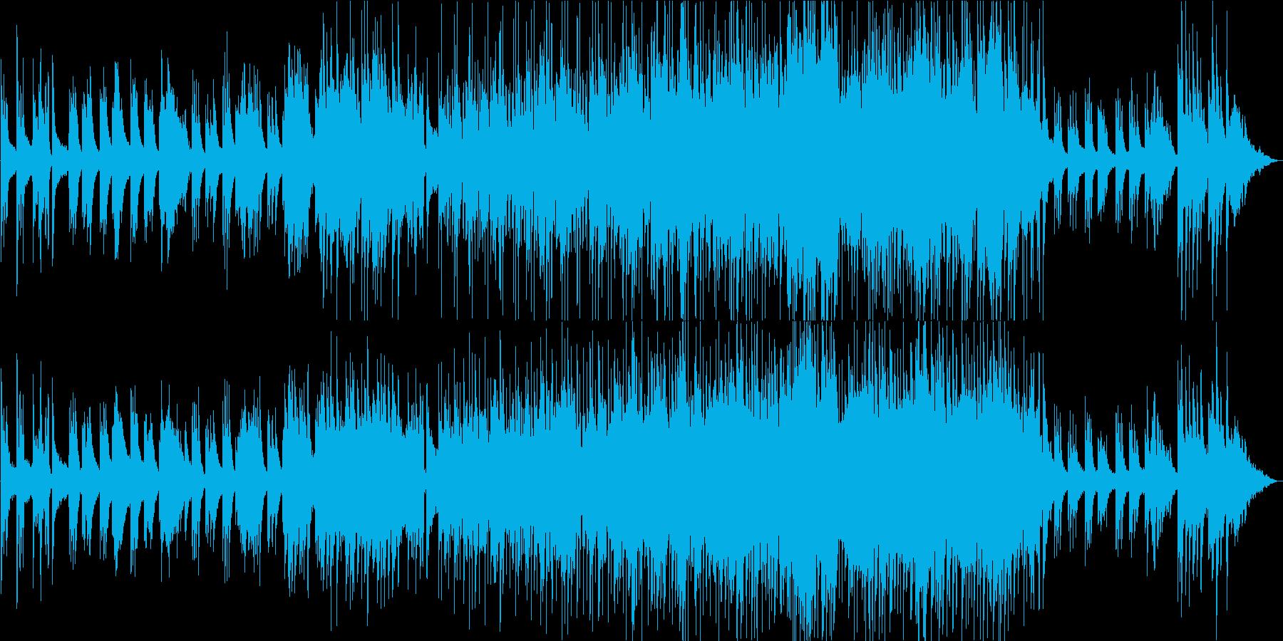星空・銀河 幻想的なピアノBGMの再生済みの波形