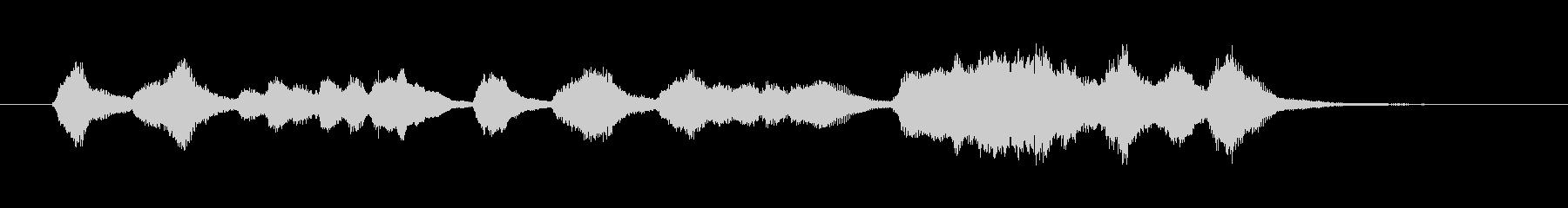 アイネクライネナハトムジーク1ジングル弦の未再生の波形