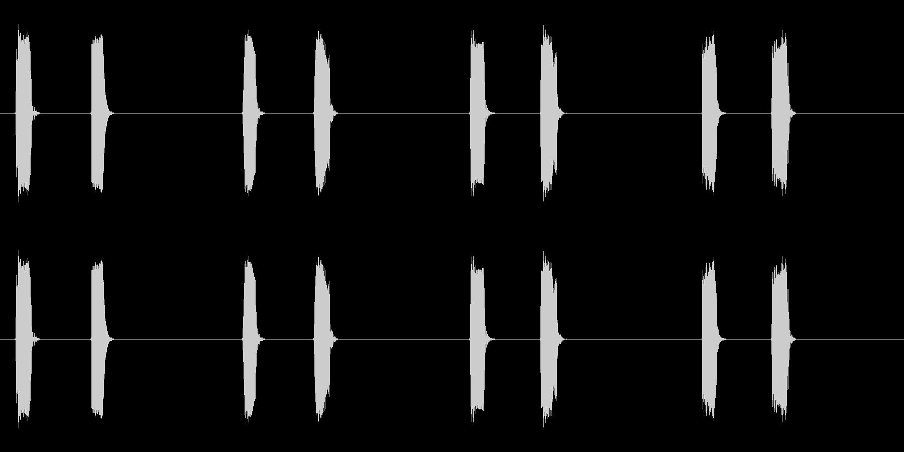 ピッピッ×4◆ホイッスル/競技、交通整理の未再生の波形