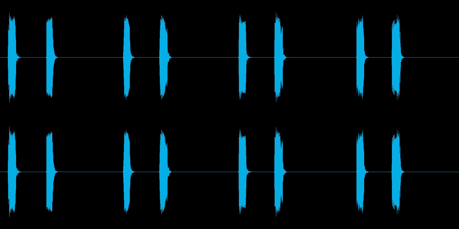 ピッピッ×4◆ホイッスル/競技、交通整理の再生済みの波形