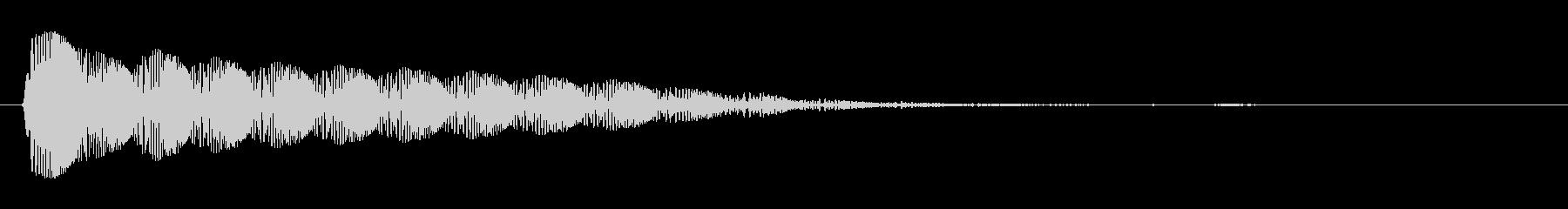 ビヨン(ぷるぷる系)の未再生の波形