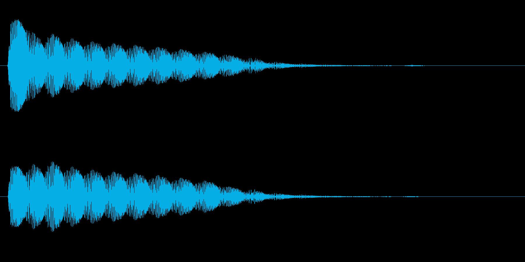 ビヨン(ぷるぷる系)の再生済みの波形