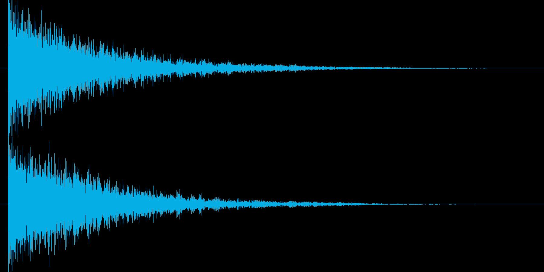 映画告知音29 ドーンの再生済みの波形