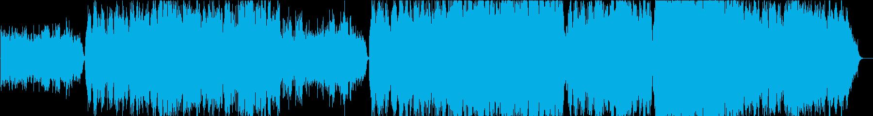 幻想的な二胡曲の再生済みの波形