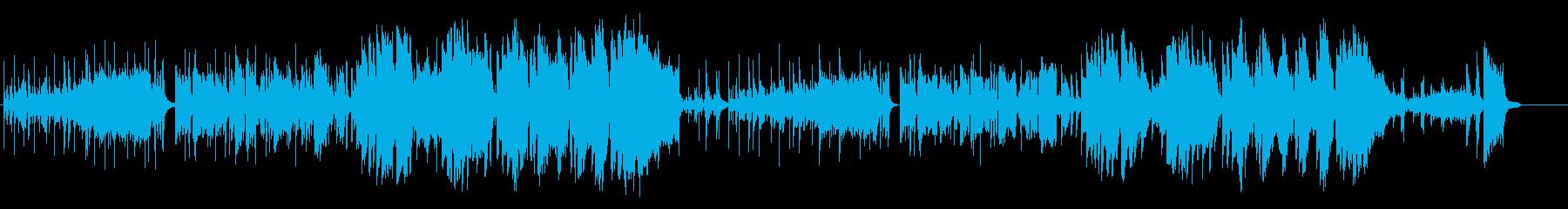 ファンキーなフュージョン2の再生済みの波形