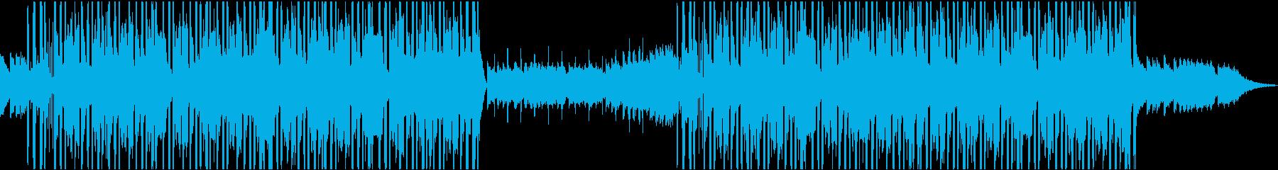 ジャジーモダンリラックスラウンジの背景の再生済みの波形