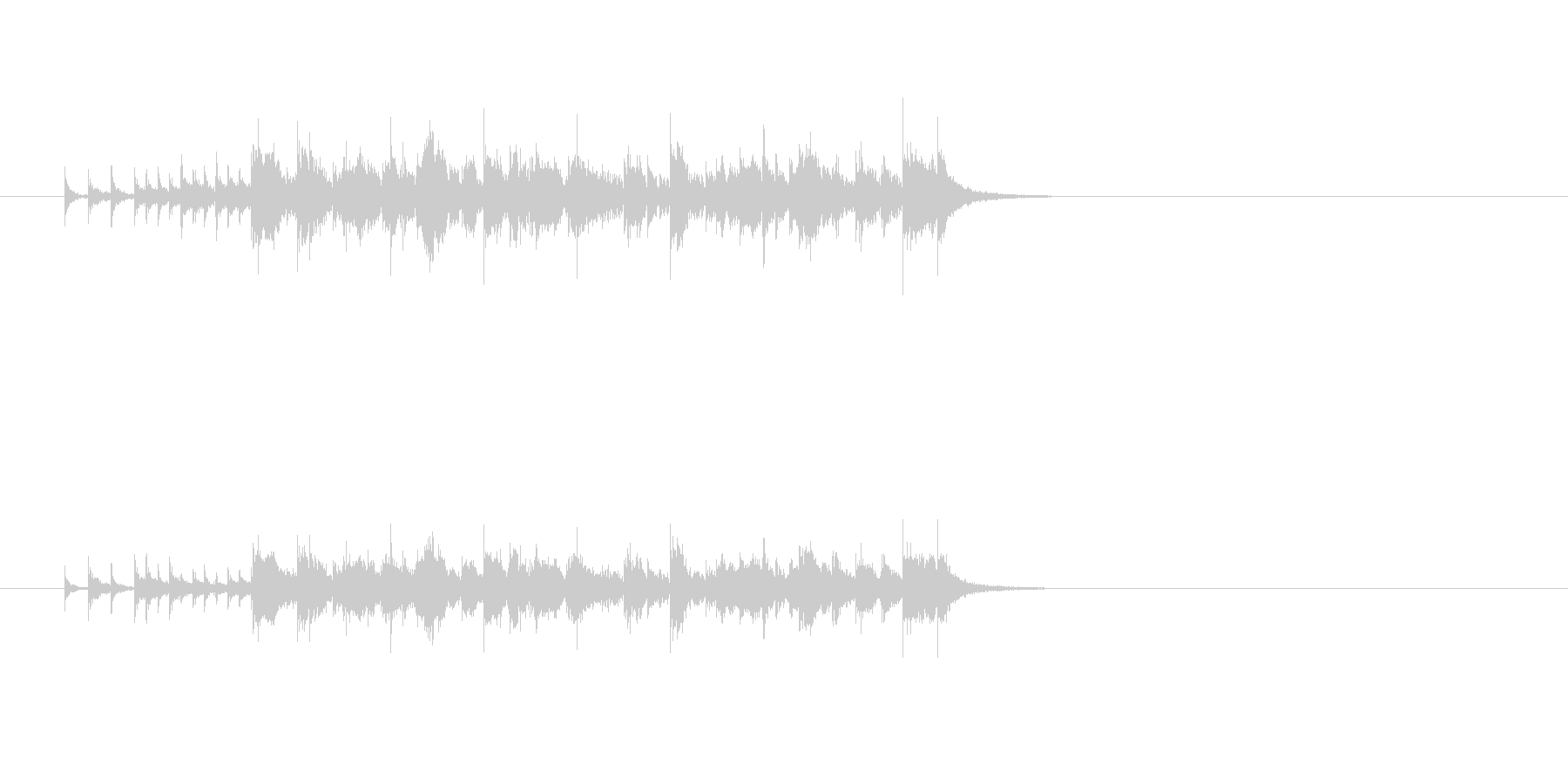 ジングル(エレクトリック・ファンク)の未再生の波形