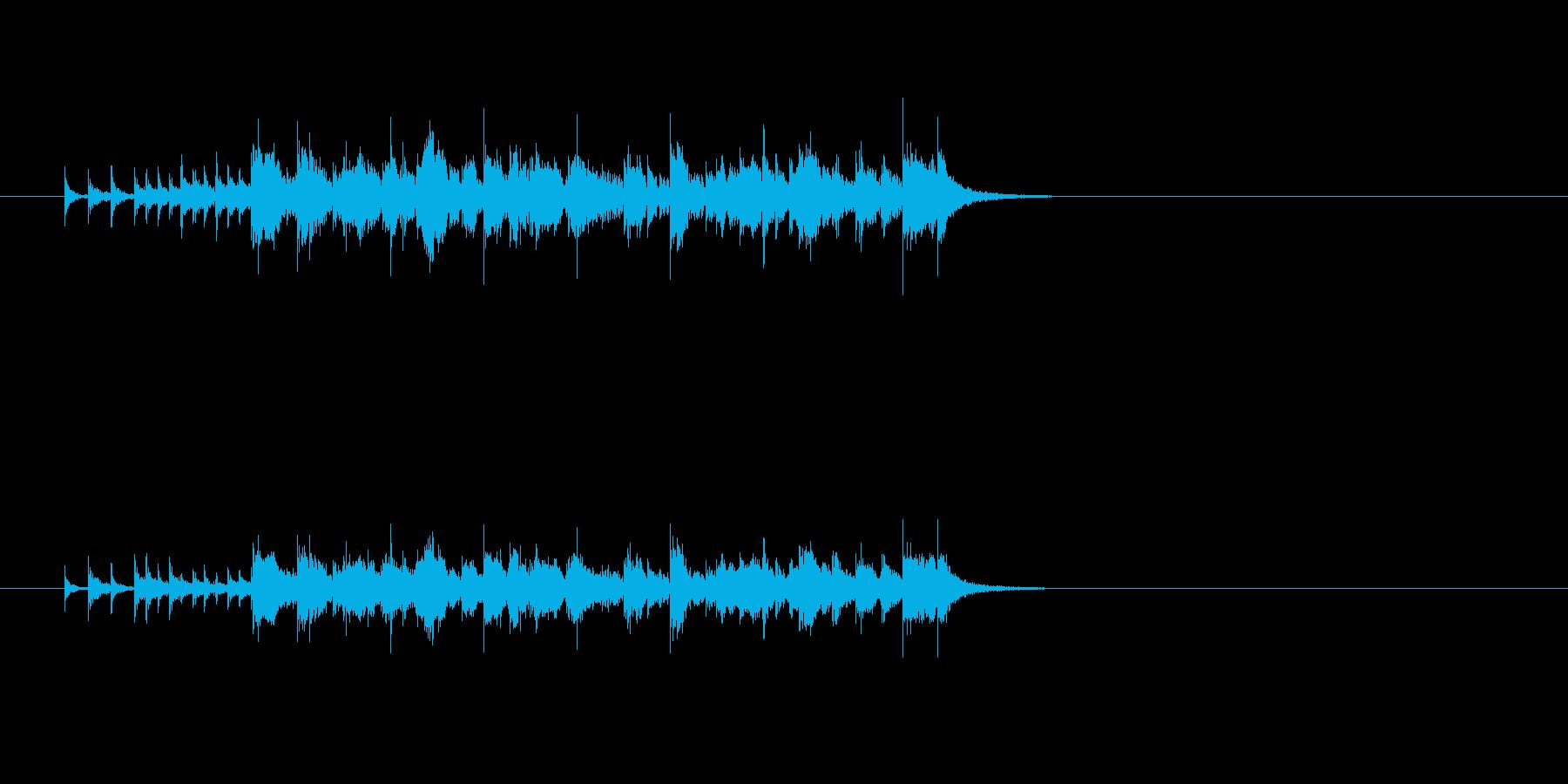 ジングル(エレクトリック・ファンク)の再生済みの波形