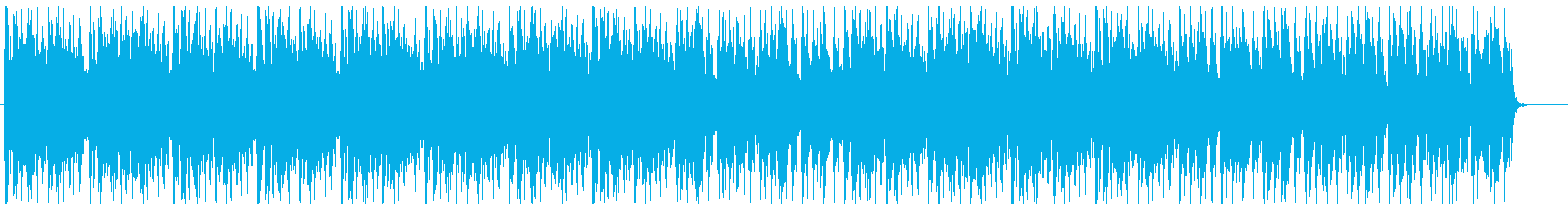 Dark and cool dance music's reproduced waveform