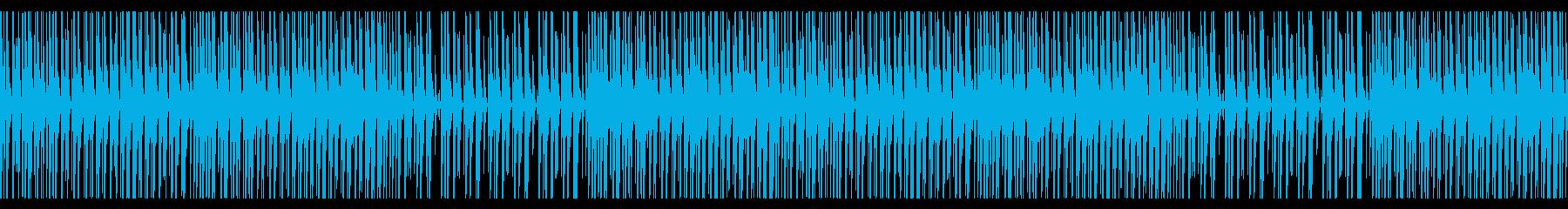 和風で楽しいお祭りBGMの再生済みの波形