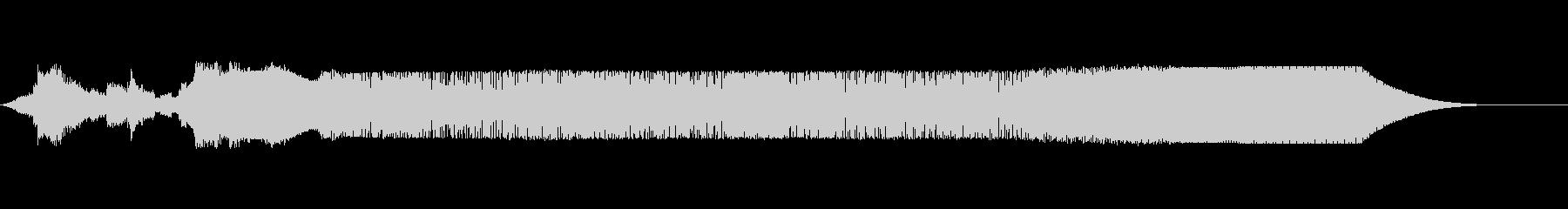 ZAP SYNTH PADの未再生の波形