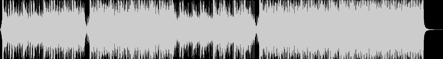 ポジティブなCM映像向けコーポレート楽曲の未再生の波形