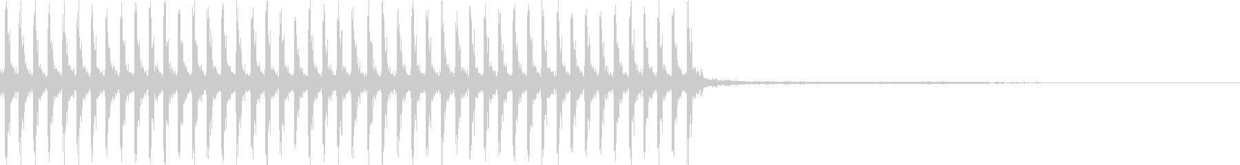 P90系サブマシンガン発砲音の未再生の波形