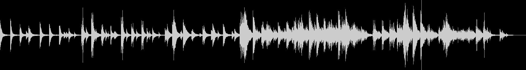 喪失(ピアノバラード・切ない・悲しい)の未再生の波形