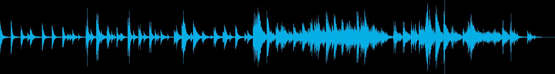 喪失(ピアノバラード・切ない・悲しい)の再生済みの波形