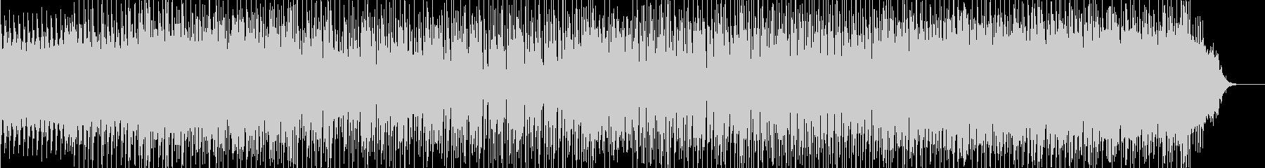 16分刻みのコード進行が印象的なBGMの未再生の波形