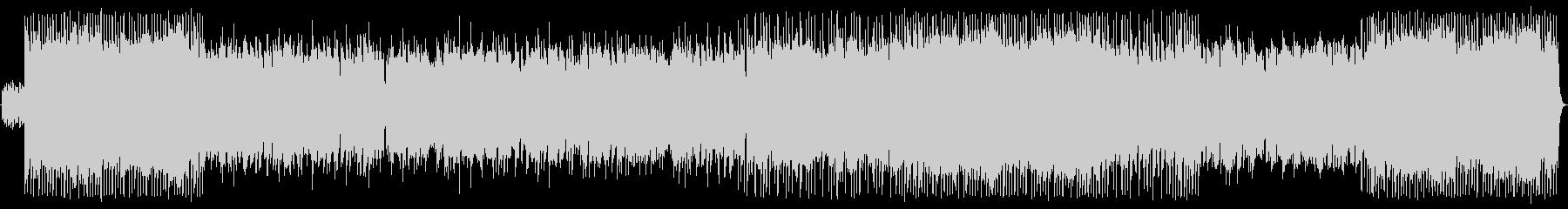 ピアノが印象的なオリエンタル風バラードの未再生の波形