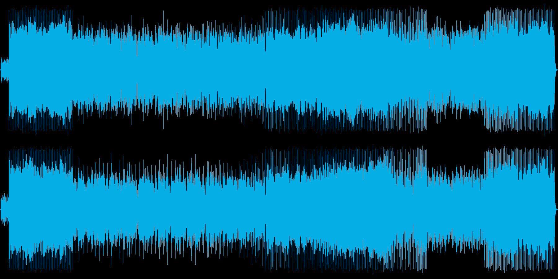 ピアノが印象的なオリエンタル風バラードの再生済みの波形