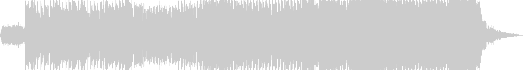 【1分版】ヘヴィーで攻撃的なエレキギターの未再生の波形