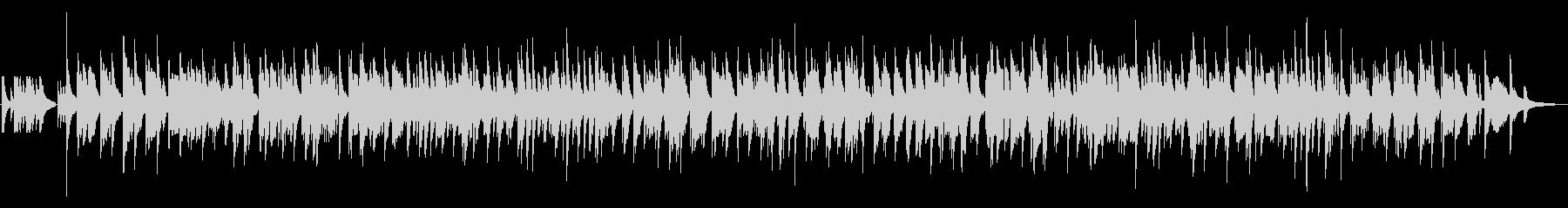 ピアノとベースのゆっくりジャズラウンジの未再生の波形