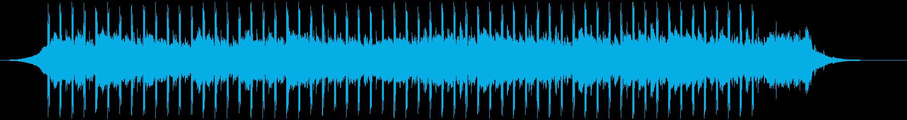 カンファレンスミュージック(短)の再生済みの波形
