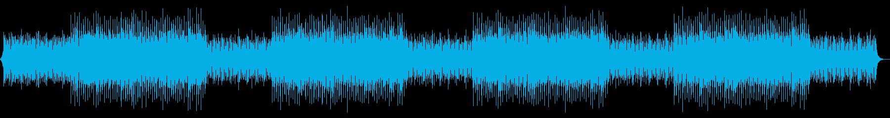 オーケストラ・EDM・退場・エンディングの再生済みの波形