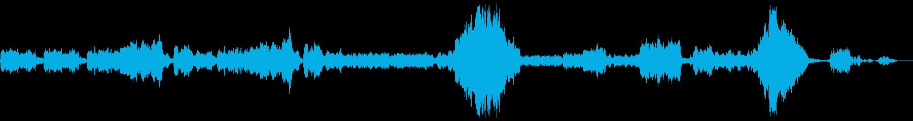 「クープランの墓」から 『メヌエット』 の再生済みの波形