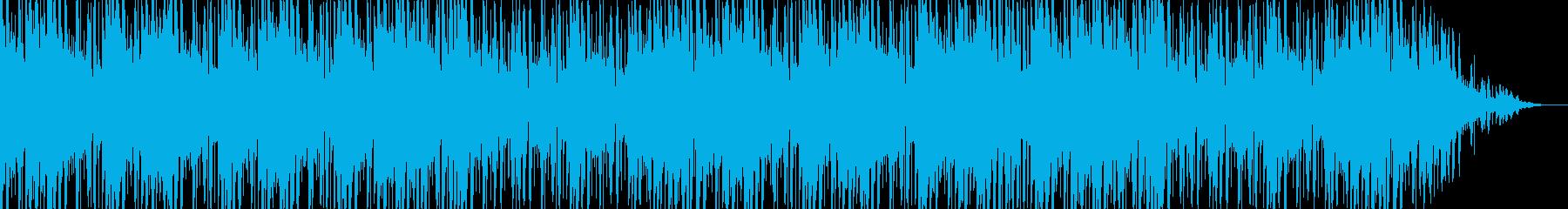和風でノリの良い楽曲の再生済みの波形