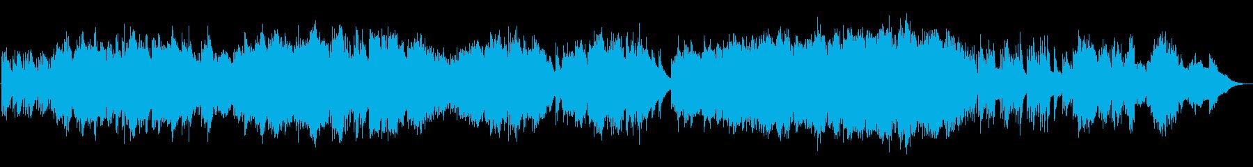 優しさに溢れた感動の生演奏フルートの再生済みの波形