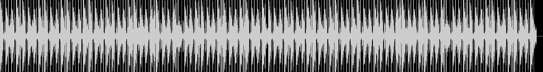ピアノの音色が印象的なヒップホップの未再生の波形