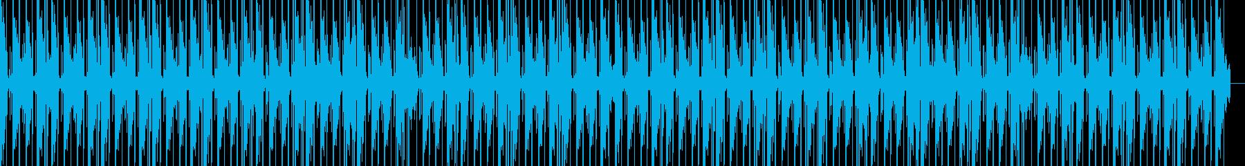 ピアノの音色が印象的なヒップホップの再生済みの波形
