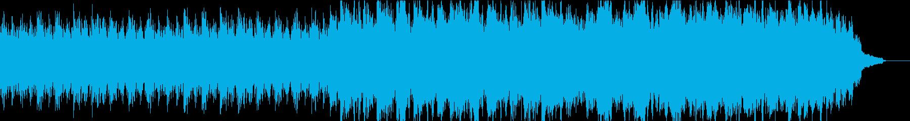 優しく感動的なピアノ+オケ⑤高音弦なしの再生済みの波形