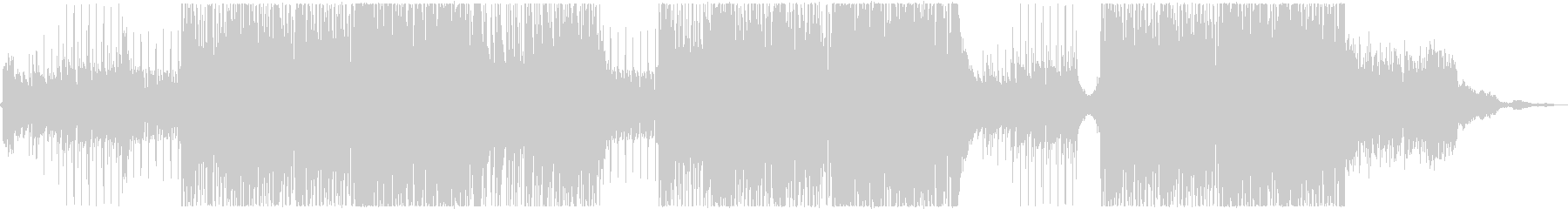 爽快で明るい夏のトロピカルハウス_ー1の未再生の波形