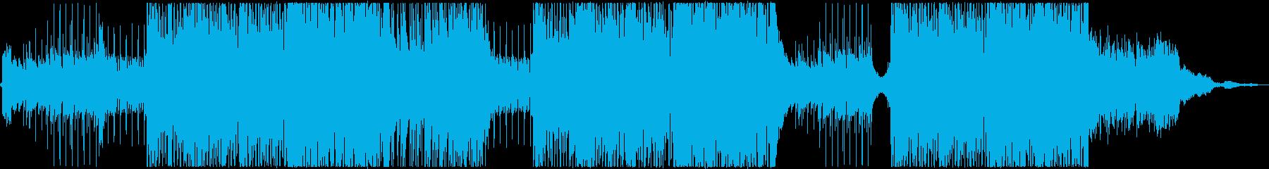 爽快で明るい夏のトロピカルハウス_ー1の再生済みの波形