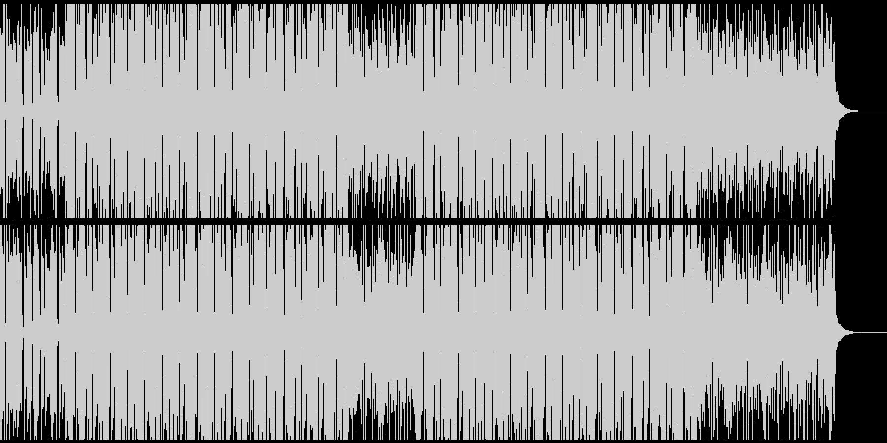 CM・VP・映像等に 軽快なヒップホップの未再生の波形