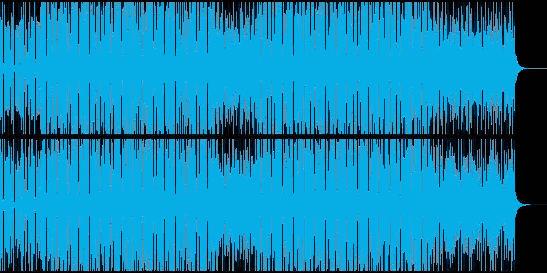 CM・VP・映像等に 軽快なヒップホップの再生済みの波形